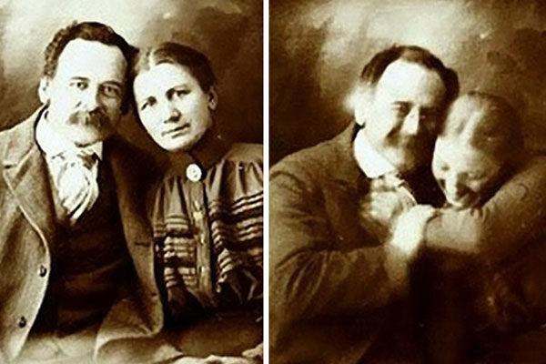 Um casal muito feliz