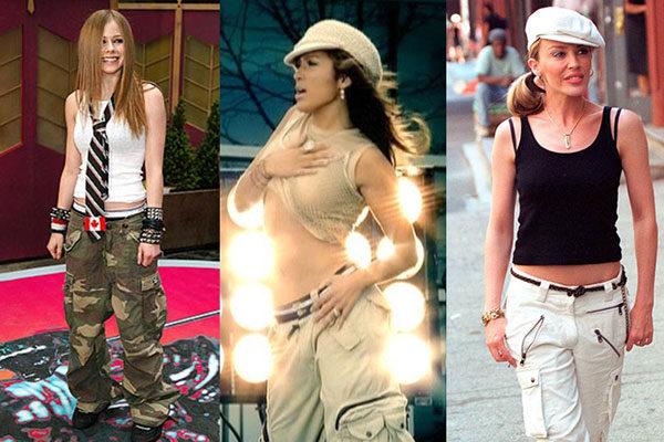 Os grupos da moda