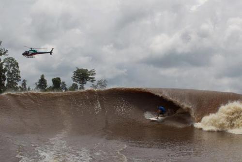 A Pororoca: A onda mais longa do mundo