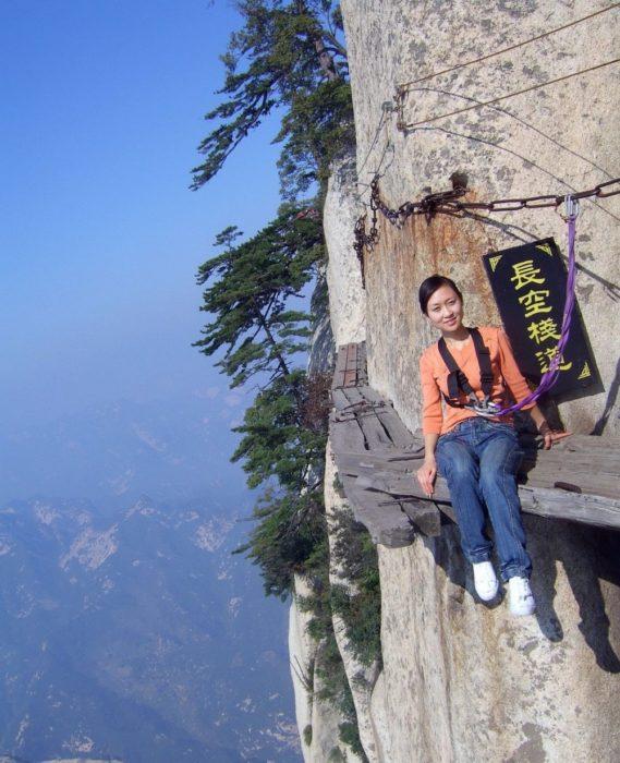 O caminho a morte, Altura 2130m. China