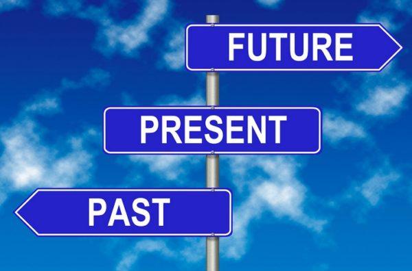 O passado fica atrás!
