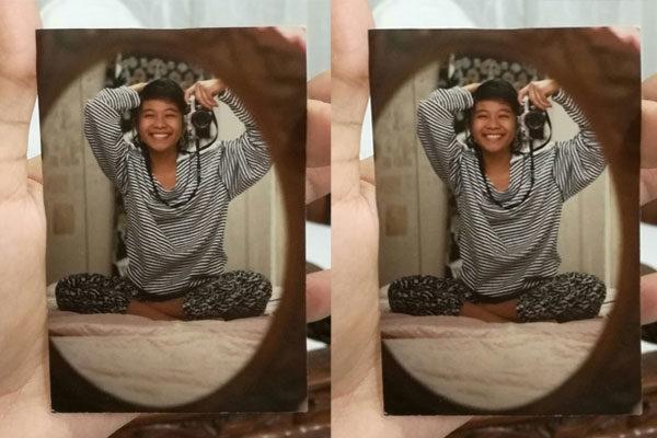 Antes que as selfies fossem virais, 1989