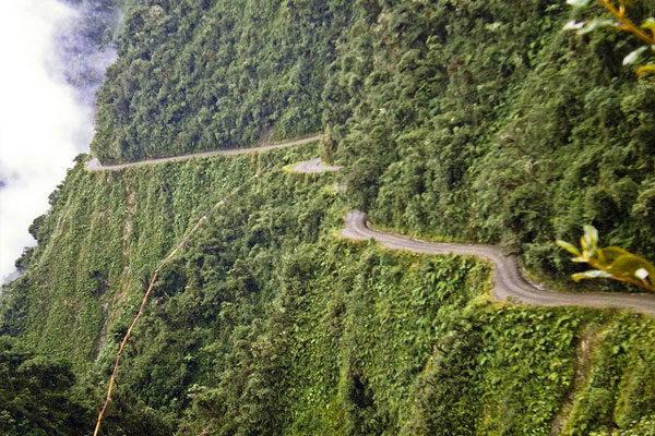 Estrada Yungas, Bolívia