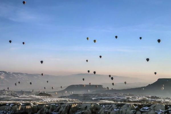 Turquia, Capadócia