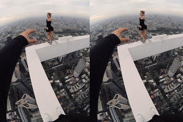 Sem medo das alturas