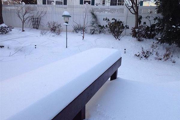 Suave e lisa neve