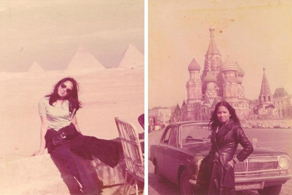 Ela também amava viajar, 1975