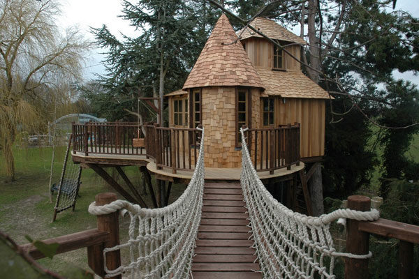 Treetop Castle Tree House