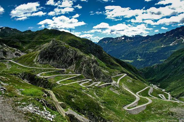 O Passe Gotthard (Gotthard), Suíça