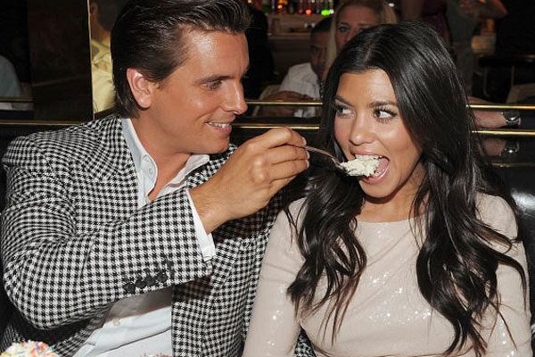 Kourtney Kardashian e Scott Disick