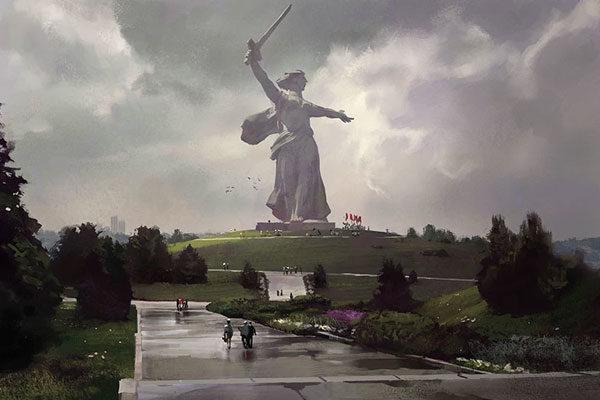 Estátua da Mãe Pátria