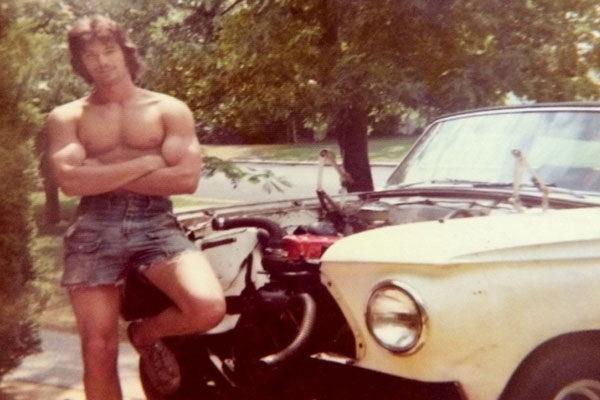 Em que idade você começou a parecer legal, 1973