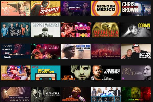 Documentários sobre músicas e concertos, Código 90361