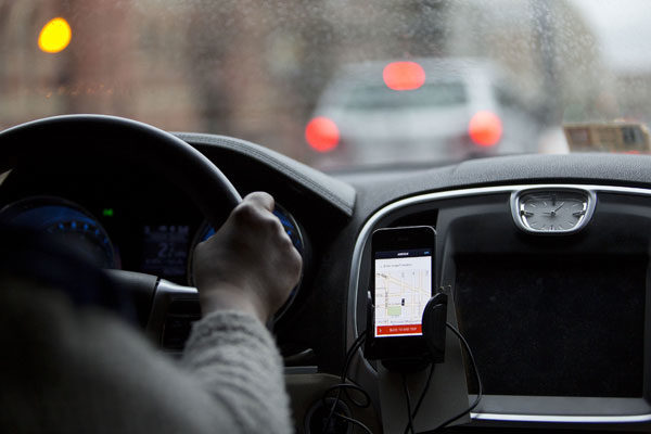 Condutor de Uber