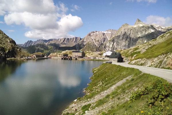 Gran San Bernardo, Alpes, Suíça-Itália