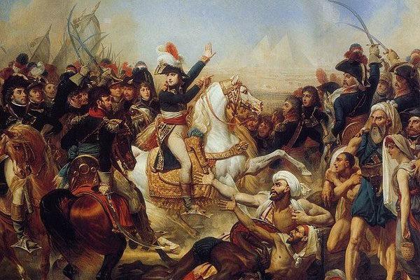 Napoleão foi atacado por coelhos