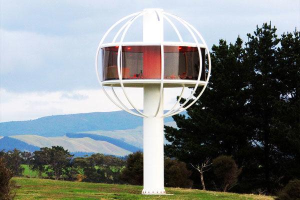 Casa da árvore futurista