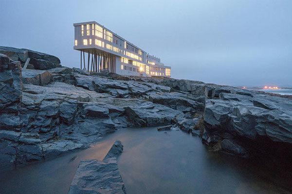 Ilha de Fogo, Canadá