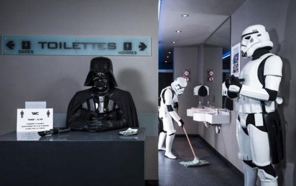 Encarregado de banheiros