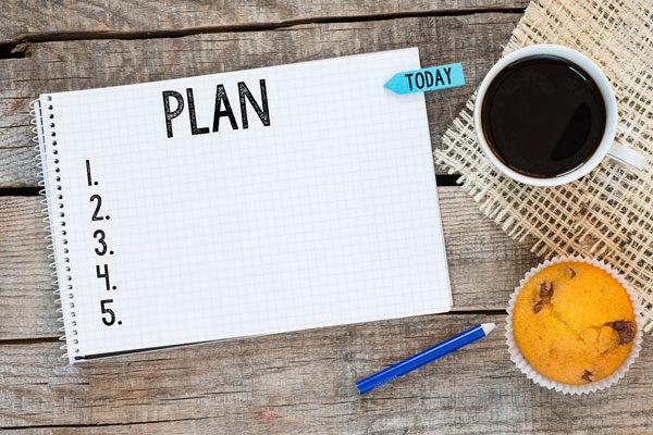 Planejar antecipadamente