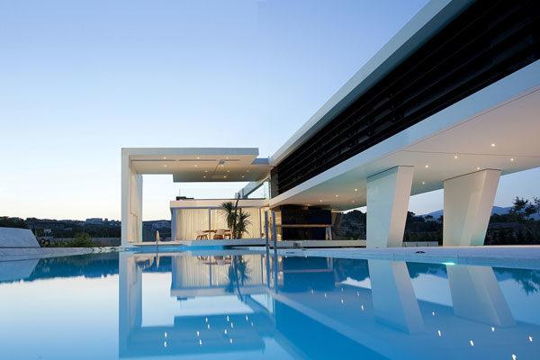 Um sonho de piscina