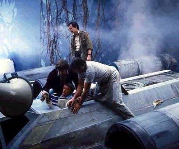Um R2-D2 ao ser descoberto