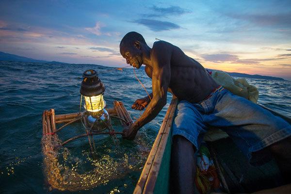 Pescando com Luzes