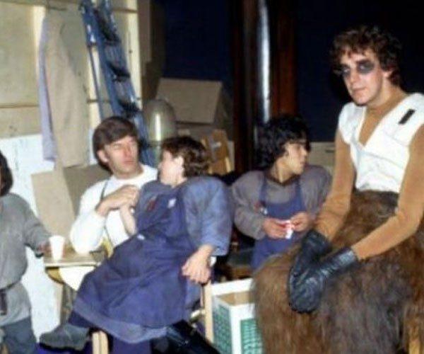 Chewbacca e seus pequenos amigos