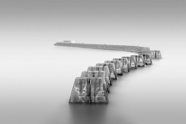 Pilares de ferrovia