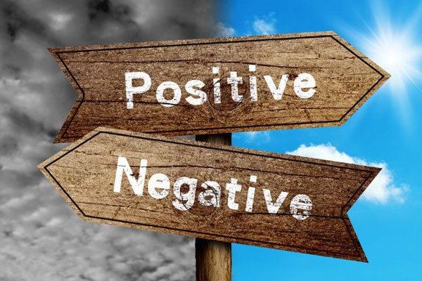 Livrar-se do negativo