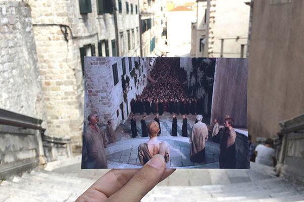 Escadarias dos jesuítas, Dubrovnik, Croácia