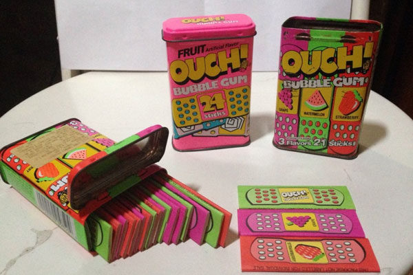 Chicletes Ouch!