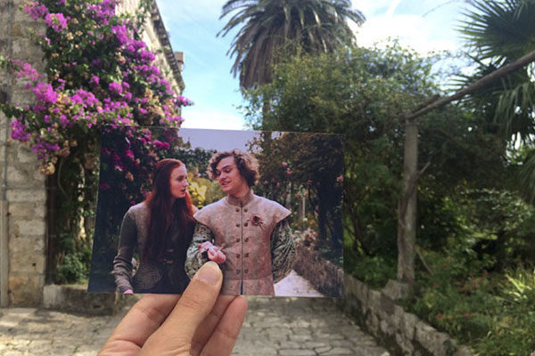 Os jardins de King's Landing