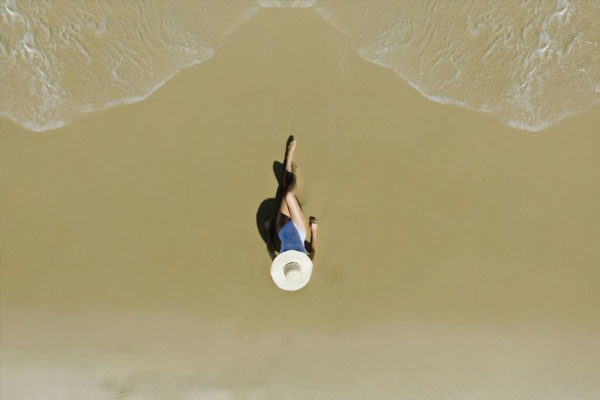 Garota na praia, Rio de Janeiro