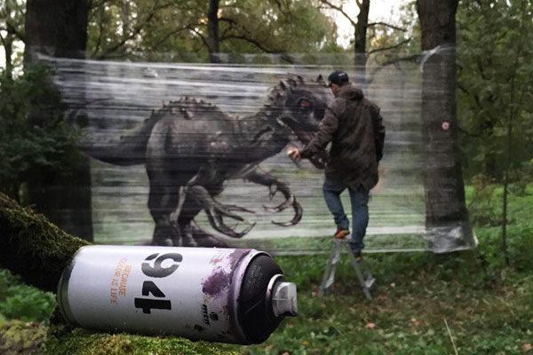 Pintura em Spray