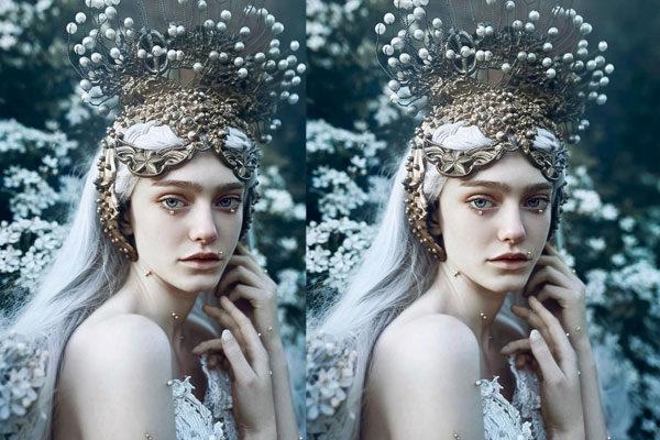 Beleza congelada