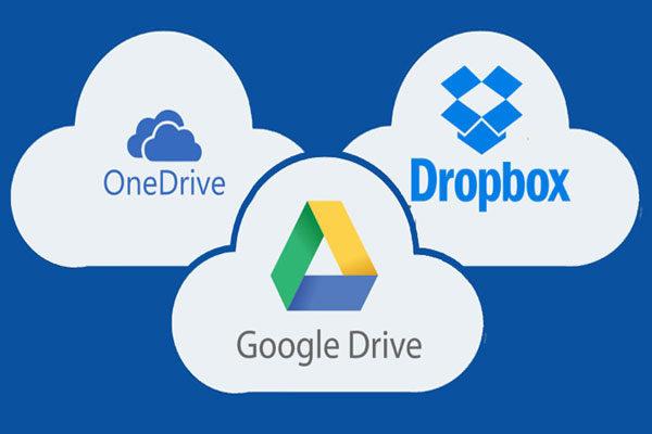 Cloud Storage, Dropbox e Google Drive