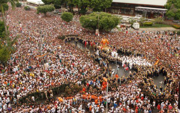 A maior manifestação religiosa do Brasil