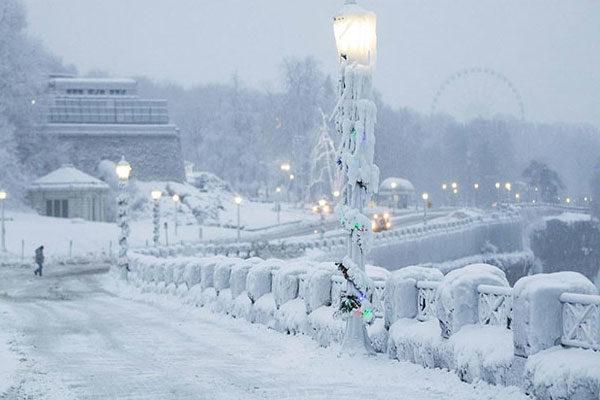 Frozen Niágara