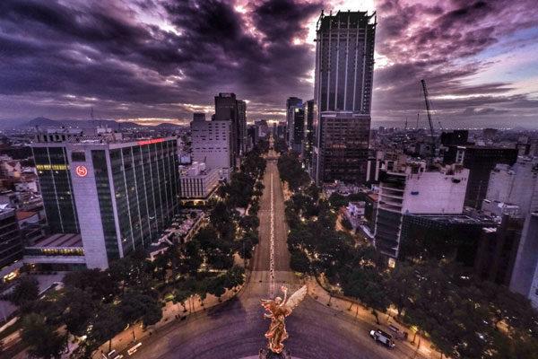 Anjo da Independência, Cidade do México