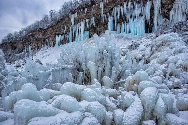 Azul congelado