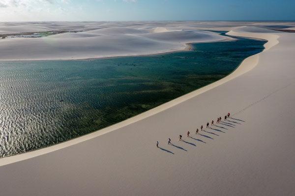 Explorando os lençóis, Maranhão