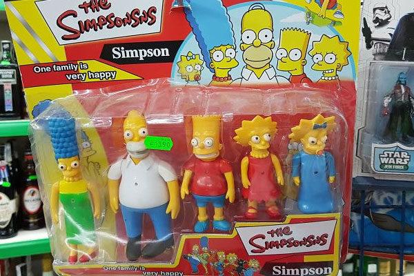 Os Simpsons como nunca vimos...