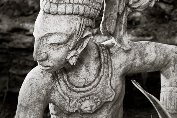 Tendências de beleza maia