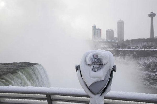 Uma vista no inverno