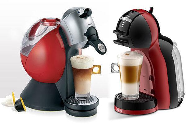 Máquinas caseiras de café