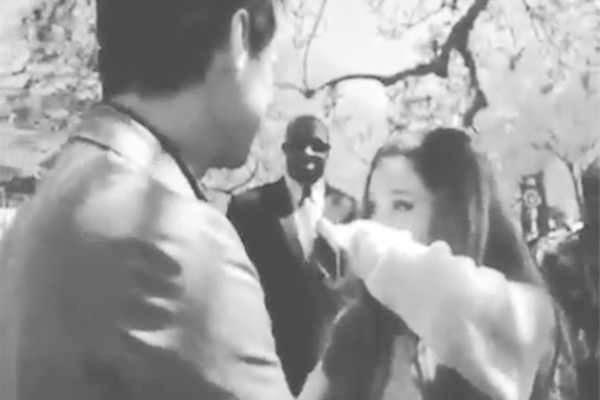 Ariana Grande / Jim Carrey