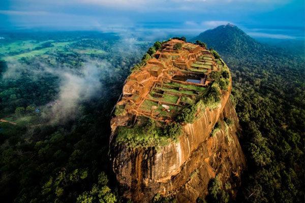 O grande Sigiriya no Sri Lanka