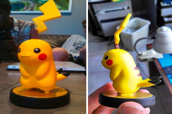 O primo do Pikachu