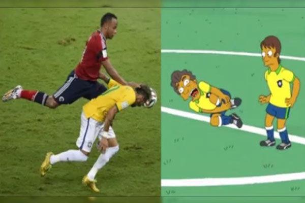 Lesão de Neymar